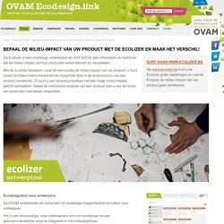 Ecolizer ontwerptool voor producten