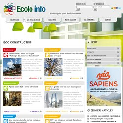 Ecolo-Info Eco construction Archives - Ecolo-Info