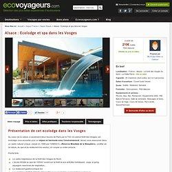 Ecolodge Spa dans les Vosges
