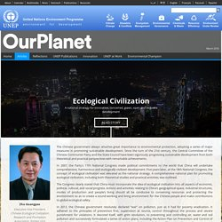Ecological Civilization
