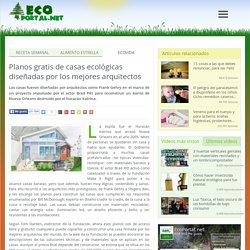 Planos gratis de casas ecológicas diseñadas por los mejores arquitectos