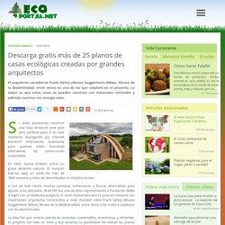 Descarga gratis más de 25 planos de casas ecológicas creadas por grandes arquitectos