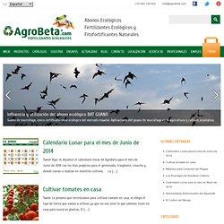 Blog sobre abonos ecológicos, agricultura ecológica, huerto urbano, jardinería y cannabis medicinal.