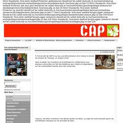 CAP - Comité pour une Autre Politique - Muammer Yildiz montre un converteur magnetique à l'Université technique de Delft. - Ecologie - Articles