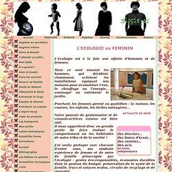 ECOLOGIE au FEMININ : Eco-attitude et consommation durable des f