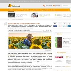 Agro-écologie : une diffusion progressive sur le terrain