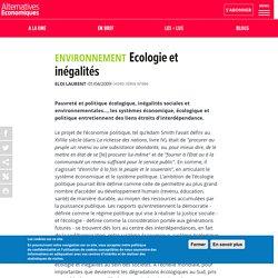 Ecologie et inégalités