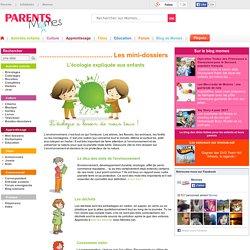 L'écologie expliquée aux enfants