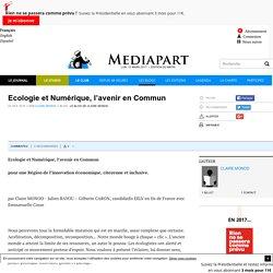 Ecologie et Numérique, l'avenir en Commun
