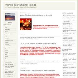 ecologie : Patrice de Plunkett : le Blog
