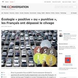 Écologie «positive» ou «punitive», lesFrançais ont dépassé leclivage