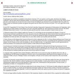 Ecologik Business/Newsletter EPI: MONDE: LES PRIX DE L'EAU MONTENT