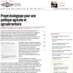 Projet écologique pour une politique agricole et agroalimentaire