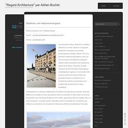 """Regard Architecture"" par Adrien Buchet"