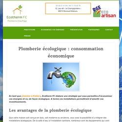 Plomberie écologique : consommation économique - Ecotherm FC