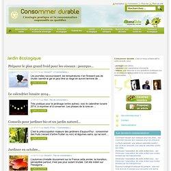 Jardin écologique Consommer Durable
