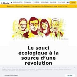 Le souci écologique à la source d'une révolution intellectuelle française