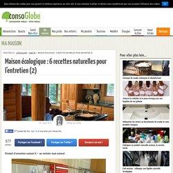Maison écologique : 6 recettes naturelles pour l'entretien (2) Page 2 de 2