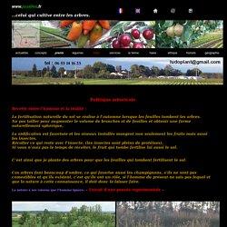 accueil des produits de la ferme au jardin ecologique de perruquines