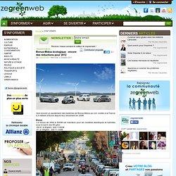 Bonus-Malus écologique : encore des réductions pour 2012