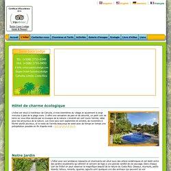 Hôtel Suizo Loco Lodge - Hotel charme écologique restaurant piscine bar jardin services équipe