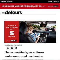 Selon une étude, les voitures autonomes sont une bombe écologique à retardement - Détours