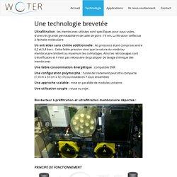 wOter® - Solutions écologiques basse consommation de traitement des eaux usées
