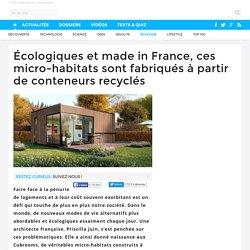 Écologiques et made in France, ces micro-habitats sont fabriqués à partir de conteneurs recyclés - 04/10/16