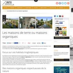 Maisons organiques : maisons écologiques insolites - Info ImmoActualité Immobilier