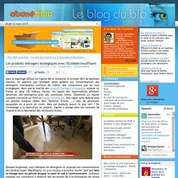 Les produits ménagers écologiques avec l'Ecolabel insuffisant