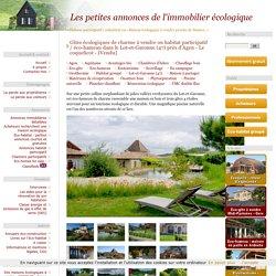 """Gîtes écologiques de charme à vendre dans le Lot-et-Garonne (47) – """"Le hameau des coquelicots"""""""