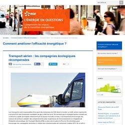 Transport aérien : les compagnies écologiques récompensées