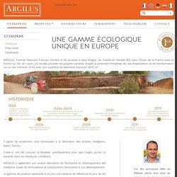 Historique - ARGILUS - Enduits Terre et Matériaux écologiquesARGILUS – Enduits Terre et Matériaux écologiques