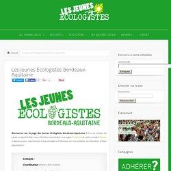 Les Jeunes Écologistes Bordeaux-Aquitaine