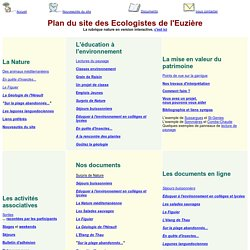 Ecologistes Euzière plan site