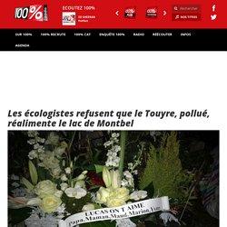 Les écologistes refusent que le Touyre, pollué, réalimente le lac de Montbel - LES INFOS - 100% Radio