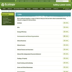 Useful Links - Ecology Building Society