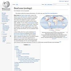 Dead zone (ecology)