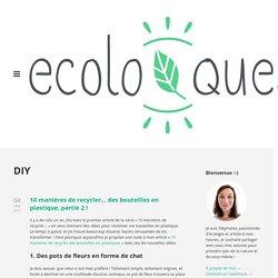 DIY / Ecoloquest - Agir pour l'écologie au quotidien