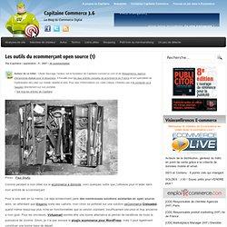 Les outils du ecommerçant open source (1) - Capitaine Commerce :