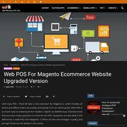 Web POS For Magento Ecommerce Website Upgraded Version - AditMicrosys