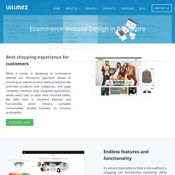 ecommerce website design in Bangalore