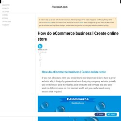 How do eCommerce business