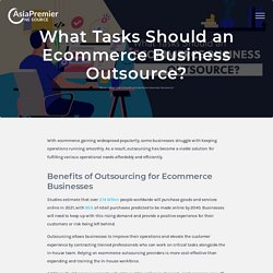 What Tasks Should an Ecommerce Business Outsource?