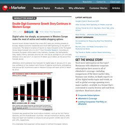 Double-Digit Ecommerce Growth Story Continues in Western Europe