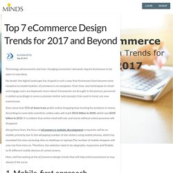 Top 7 eCommerce Design Trends for 2017 and Beyond