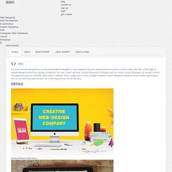 Web design company in oman