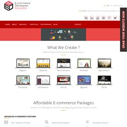 Get a Quote from Ecommerce Developers Bangalore