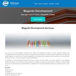 Ecommerce Developers Services - Hire Magento Developer Australia