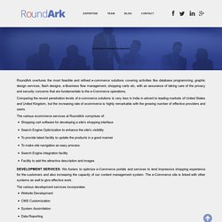 Ecommerce Development Company - RoundArk